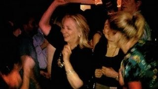 Hillary Clinton Dancing, Drinking Beer In Colombia