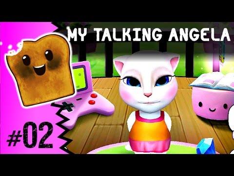GRY DLA DZIEWCZYNEK | MY TALKING ANGELA PO POLSKU