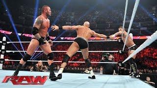 Randy Orton vs. Cesaro: Raw, April 13, 2015