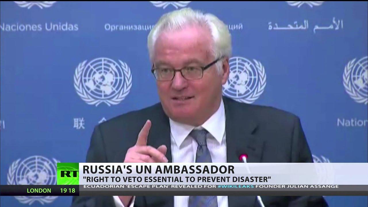 'Right to veto essential to prevent disaster' - Russia's UN ambassador