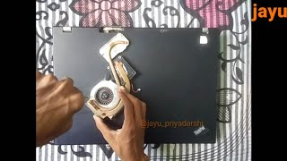 Lenovo Thinkpad R61 CPU Fan Replacement | Lenovo Fan Error Fixed | jay priyadarshi
