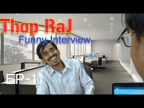 Thopraj Funny Interview | Best Funny Videos | Challenge Not To Laugh | Patas TV
