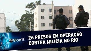 Vereador do Rio de Janeiro é preso suspeito de chefiar milícia | SBT Brasil (18/07/19)