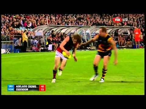 Essendon Bombers vs Adelaide Crows 2013 rd1 AFL