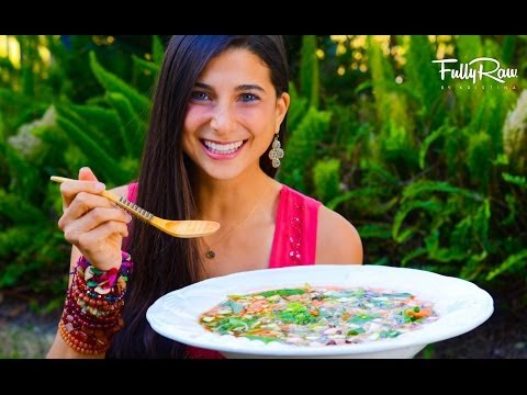 FullyRaw Minestrone Soup!