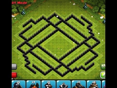 Clash Of Clans - EPIC TOWN HALL 9 Trophy Base !