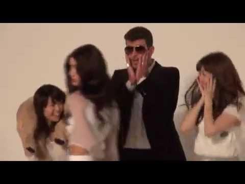 【メイキング映像】ロビン・シック×AKB48「ブラード・ラインズ~今夜はヘイ・ヘイ・ヘイ♪」