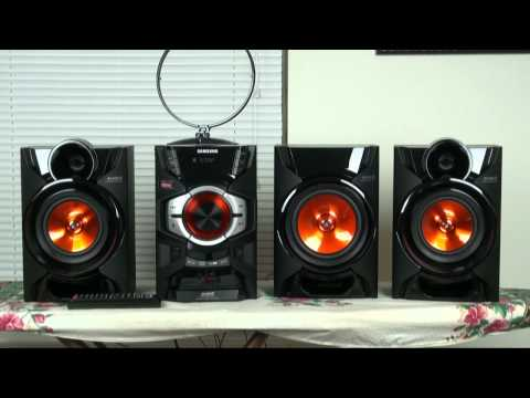 Samsung MX-E650 mini compact stereo system REVIEW
