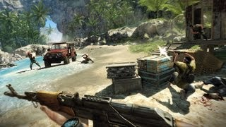 Far Cry 3: ATI Radeon HD5570 1GB DX11 Performance Test