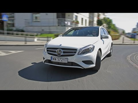 Nowy Mercedes klasy A (TEST)