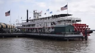 Steamboat Natchez - Mississippi River Cruise - New Orleans (2017)