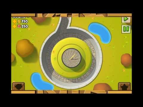 BTD 5  How to beat No Escape (Special Mission) Extremely Easy
