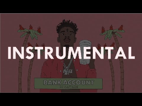 Download 21 Savage  Bank Account instrumental Prod Station 666