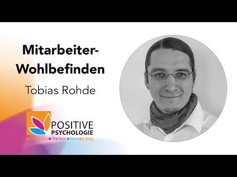 Mitarbeiter-Wohlbefinden / Tobias Rohde auf der Positive Psychologie Tour 2019