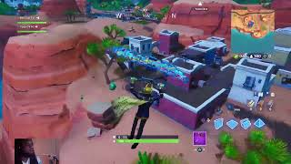 "Come WATCH the ""WORSE FORTNITE PLAYER "" get a win!!"