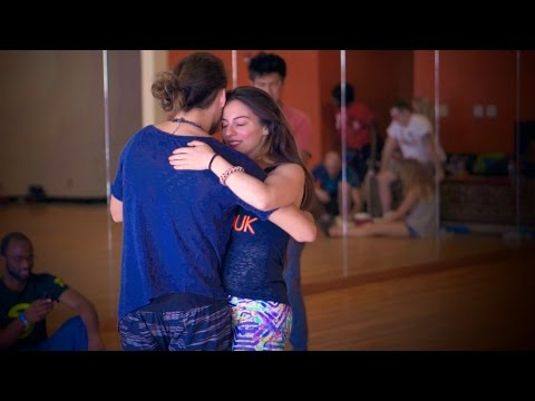 Beautiful Dance Improvisation - Ry'El (Henry Velandia) & Jessica Lamdon - ZenZouk Class in Atlanta