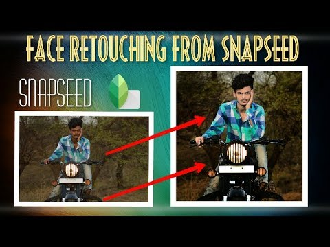 Snapseed Tutorial //Snapseed photo Editing //Snapseed tricks //Snap editing tutorial //face retouch