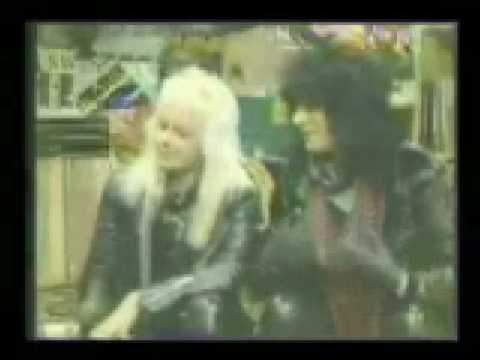 Nikki Sixx and Vince Neil Interview 1984