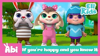 If you're happy and you know it | Nursery Rhymes Compilations | Eli Kids