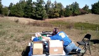 Dan shooting a Remington 7mm Ultra Mag