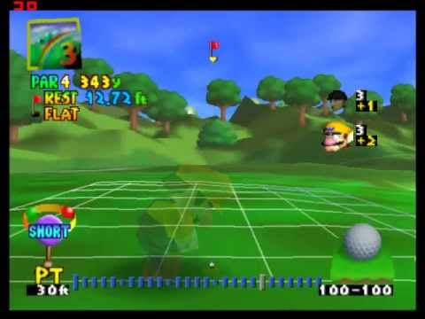 Matt and Alex Play Video Games: Mario Golf for N64
