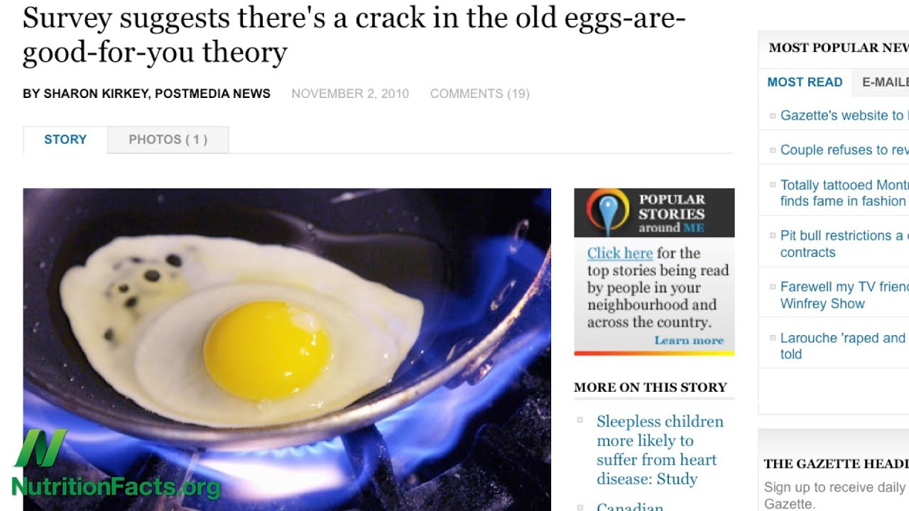 Egg Cholesterol in the Diet