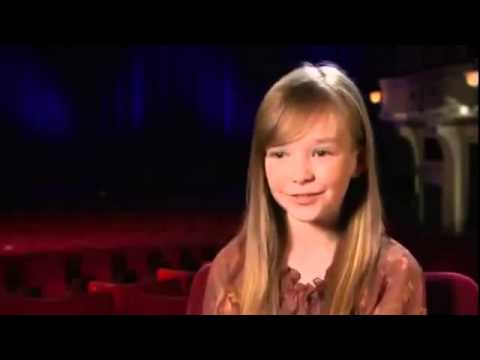 Simon Cowell and Amanda Holden about  Connie Talbot