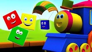 بوب القطار | ركوب اللون | تعلم الالوان بالعربية | Bob The Train | Learn Colors |  Rhymes In Arabic