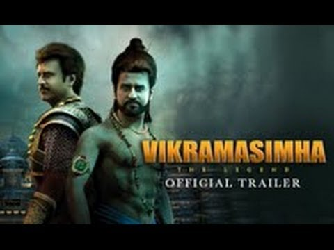 Vikramasimha - The Legend - Official Trailer | Rajinikanth & Deepika Padukone