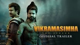 Vikrama Simha - Vikramasimha - The Legend - Official Trailer ft. Rajinikanth, Deepika Padukone