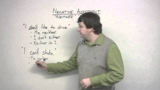 English Grammar - Either & Neither