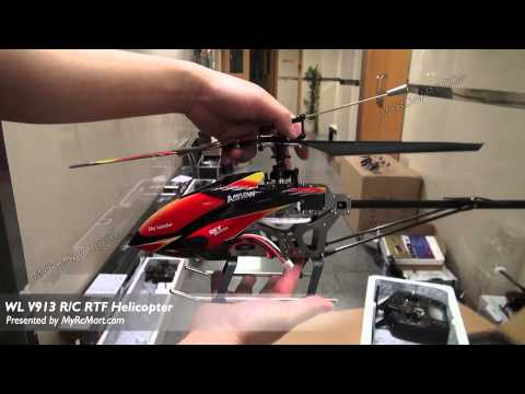 WL Toys V913 Sky Dancer 4CH 2.4Ghz RTF Helicopter (For Outdoor Flight) - MyRcMart.com