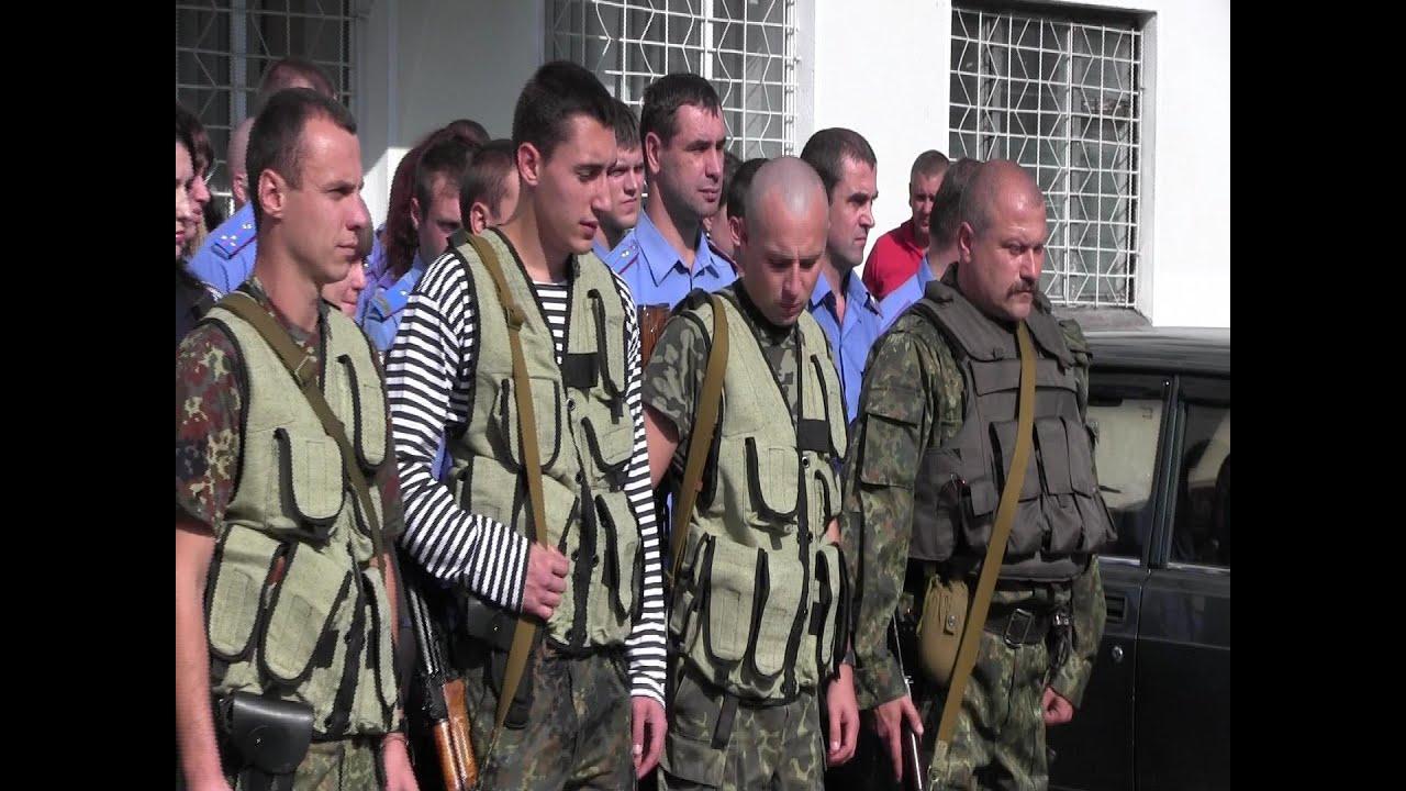 Десятеро калуських міліціонерів на чолі з Романом Чекмарьовим поїхали в зону АТО