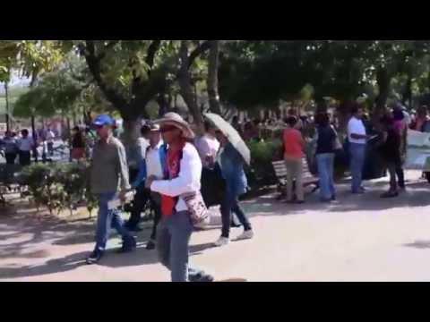 Así se vivió la jornada protesta de los docentes en #SantaMarta
