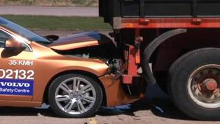Insane Volvo brake test epic fail