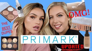 REVIEWING NEW PRIMARK MAKEUP   WE'VE FOUND NEW HOLY GRAILS!   SYD AND ELL