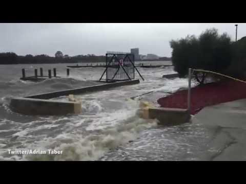 Wild weather hits Western Australia causing big swells