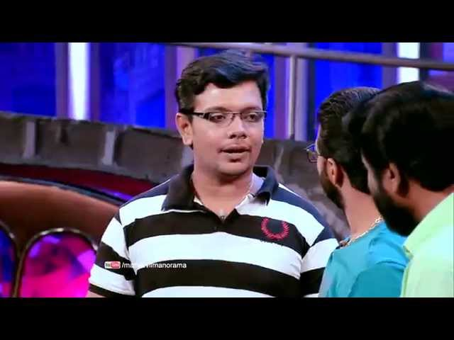 Jayasurya & Pisharady with Siddique in Cinemaa Chirimaa at 8 pm on 18th December