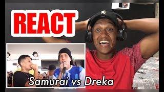 Samurai Vs Mr Dreka Batalha De Rap Do Museu Vs Sp Vs Rj 1 Fase React