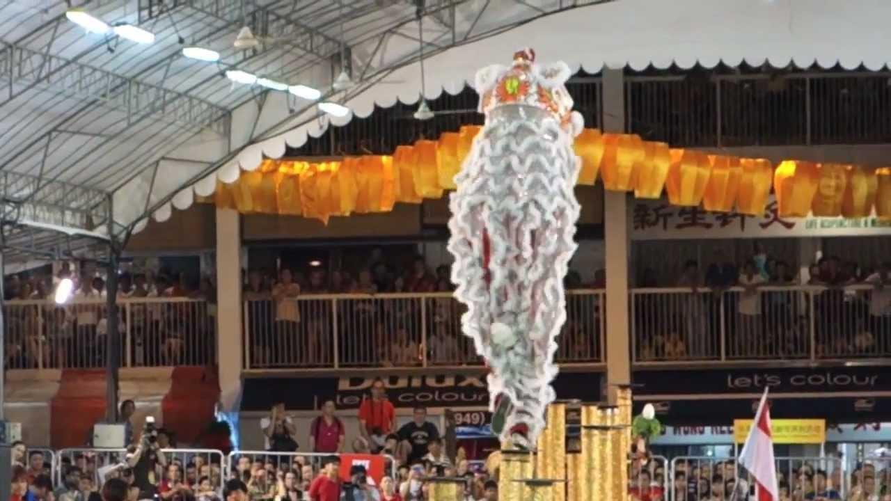 Lion Dancing History Lion Dance Singapore 2013
