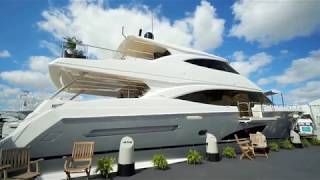 2019 VIKING 93' MOTOR YACHT at FLIBS