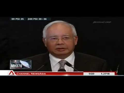 Malaysia says missing MH370 crashed at Southern Indian Ocean - 24Mar2014