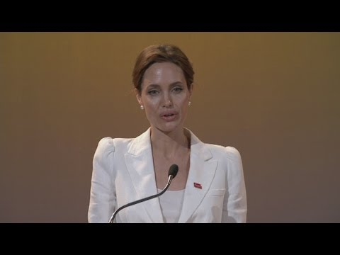 Angelina Jolie speech at opening of End Sexual Violence in Conflict...
