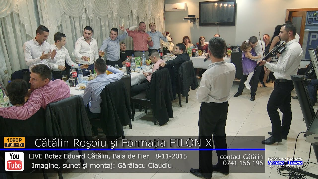 Catalin Rosoiu si Formatia FILON X -La toti ni-i greu, dar nu la fel LIVE Botez Eduard Catalin