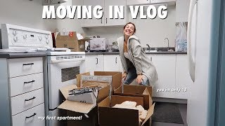 MOVING OUT AT 18 | my first apartment!