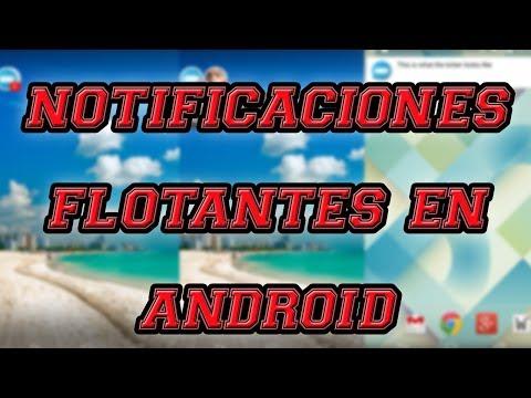 Notificaciones Flotantes para Android con Floatifications [Apps para Android] por MiSoTa94