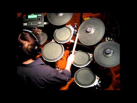 Drum playalong: Truenorth [Addictive Drums, Yamaha DTXtreme III]