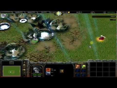 Zapaříme CZ - Let's play - Warcraft 3 - Naruto Battle Royal Díl. 9