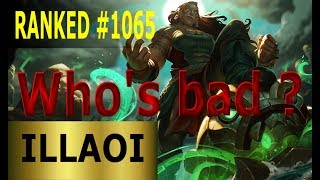 Illaoi Top - Full League of Legends Gameplay [German] Lets Play LoL - Ranked #1065
