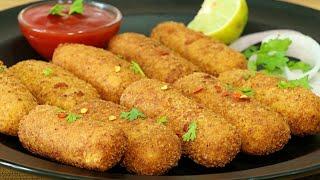 Crunchy Egg Fingers | Egg Fritters | Egg Starters Recipe | Kanak's Kitchen